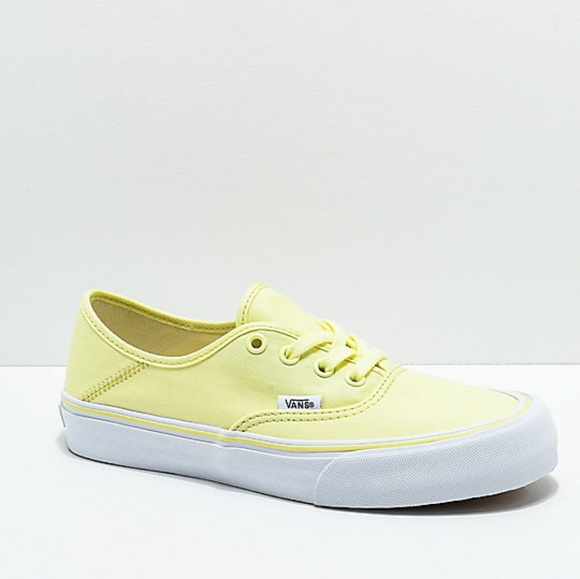 a4639a470ed Vans Authentic SF Tender Yellow